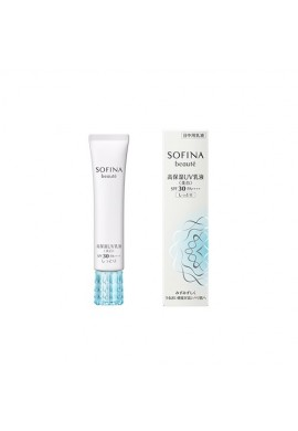 Kao Sofina Beauty High Moisture UV Whitening Emulsion Moist SPF30 PA++++