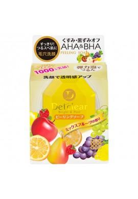 Meishoku Det Clear Bright & Peel AHA&BHA Peeling Soap