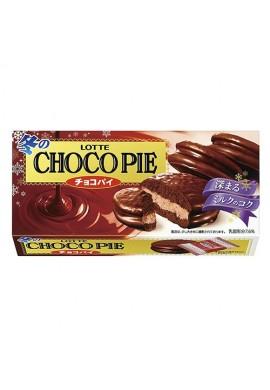 Azjatyckie słodycze Lotte Choco Pie Queen Chocolat Berry