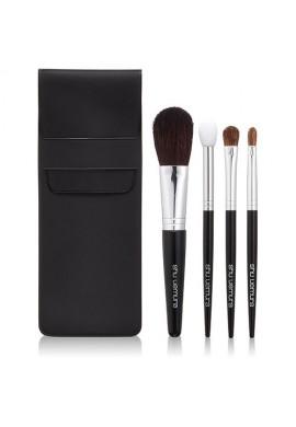 Azjatyckie akcesoria Shu Uemura Natural Portable Brush Set (makeup x 4 Brushes)