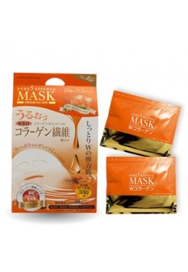 Japan Gals Pure 5 Essence Mask W Collagen