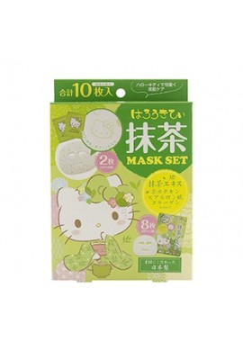 Azjatyckie kosmetyki Japan Gals Hello Kitty Matcha Mask Set