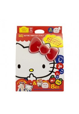 Azjatyckie kosmetyki Japan Gals Hello Kitty Ribbon Facial Equipment & Mask Set