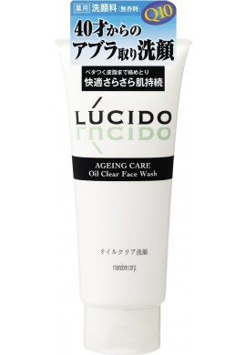 Azjatyckie kosmetyki Mandom LUCIDO AGEING CARE Oil Clear Face Wash