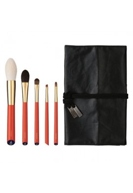 Hakuhodo Vermillion Handled Brush Set 5 pcs