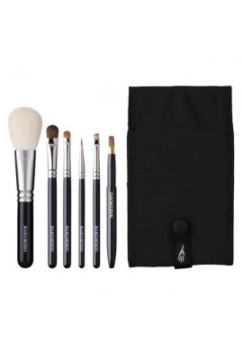 Azjatyckie akcesoria Hakuhodo Basic Selection Brush Set 6 pcs