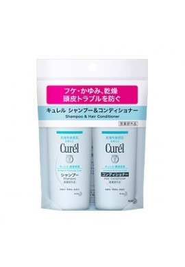 Kao Curel Shampoo and Conditioner Travel Set