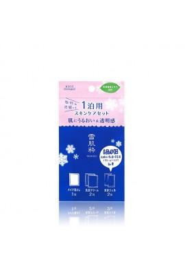 Azjatyckie kosmetyki Kose Sekkisui Skincare Travel Set for Overnight