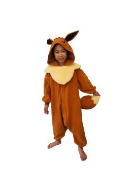 Japońskie stroje SAZAC Kigurumi for Kids Pocket Monster Eve