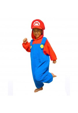 Japońskie stroje SAZAC Kigurumi for Kids Super Mario Brothers Mario
