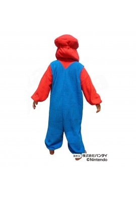 SAZAC Kigurumi for Kids Super Mario Brothers Mario