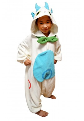 Japońskie stroje SAZAC Kigurumi for Kids Yokai-Watch Komasan