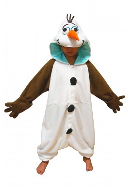 Japońskie stroje SAZAC Kigurumi for Kids Frozen Olaf