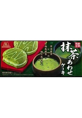 Azjatyckie słodycze Morinaga Awase Cake with Matcha (Limited Edition)