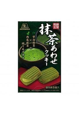 Azjatyckie słodycze Morinaga Awase Cookie with Matcha (Limited Edition)