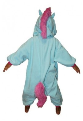 Japońskie stroje SAZAC Kigurumi for Kids My Little Pony Unicorn Blue