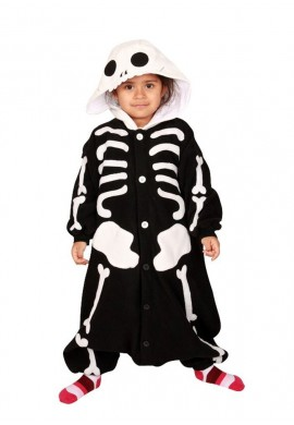 Japońskie stroje SAZAC Kigurumi for Kids Skeleton
