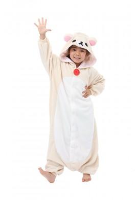 Japońskie stroje SAZAC Kigurumi for Kids Sanrio Korilakkuma