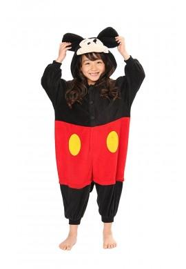 SAZAC Kigurumi for Kids Disney's Mickey