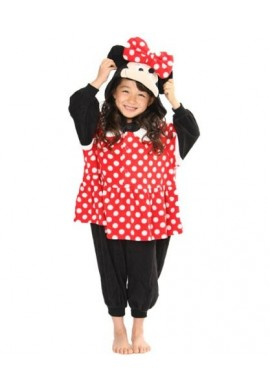Japońskie stroje SAZAC Kigurumi for Kids Disney's Minnie