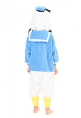 SAZAC Kigurumi for Kids Disney's Donald