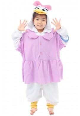 SAZAC Kigurumi for Kids Disney's Daisy