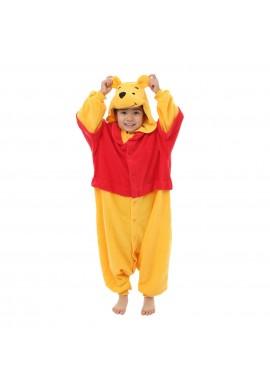 SAZAC Kigurumi for Kids Disney's Winnie the Pooh