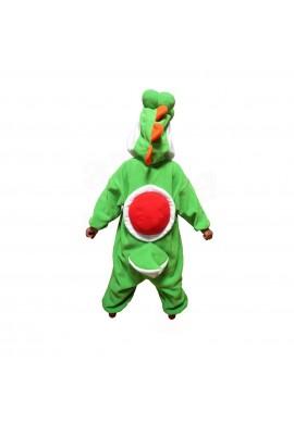 SAZAC Kigurumi for Kids Super Mario Brothers Yoshi