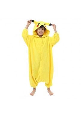 SAZAC Kigurumi for Kids Pocket Monster Pikachu