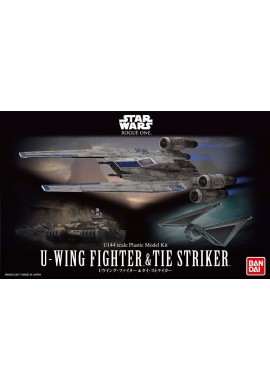 Bandai Star Wars U-Wing Fighter & Tie Striker 1/144 Scale Plastic Model Kit
