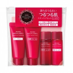 Shiseido Aqualabel Moisture Travel Set