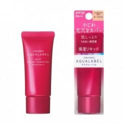 Azjatyckie kosmetyki Shiseido Aqualabel Moist Liquid Foundation SPF20 PA++