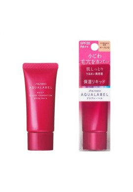 Shiseido Aqualabel Moist Liquid Foundation SPF20 PA++