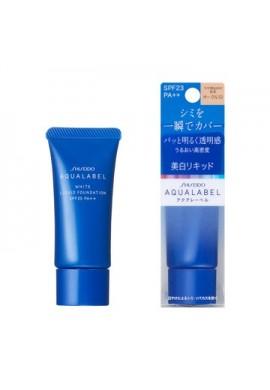 Azjatyckie kosmetyki Shiseido Aqualabel White Liquid Foundation SPF23 PA++