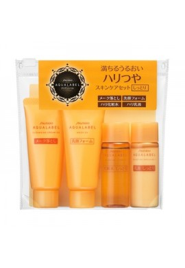 Shiseido Aqualabel Bouncing EX Travel Set
