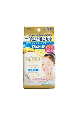 Mandom Bifesta Cleansing Sheet Oil