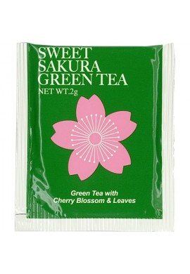 Azjatyckie herbaty Tea Boutique Sweet Sakura Tea Green Tea with Cherry Blossom Essence & Leaves