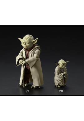 Bandai Star Wars Yoda 1/6 & 1/12 Scale Plastic Model Kit