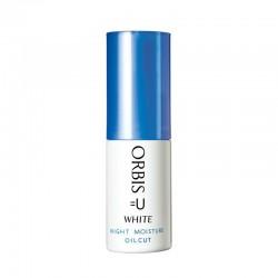 Azjatyckie kosmetyki Orbis U White Night Moisture Oil Cut