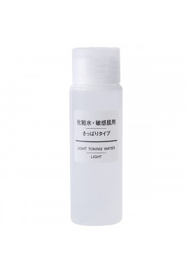 Azjatyckie kosmetyki MUJI Sensitive Skin Series Light Toning Water Lotion Refresh Type