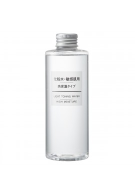 Azjatyckie kosmetyki MUJI Sensitive Skin Light Toning Water High Moisture