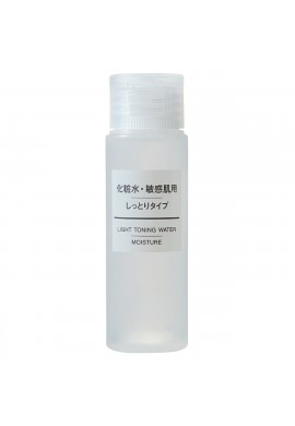 Azjatyckie kosmetyki MUJI Sensitive Skin Series Light Toning Water Moisture Type