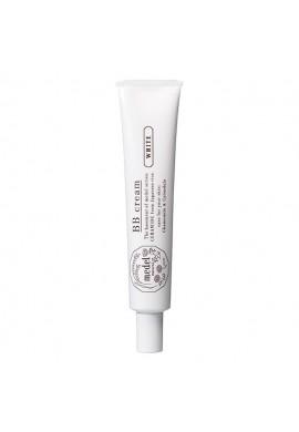 Azjatyckie kosmetyki Medel Natural White BB Cream SPF18 PA++ Yellow Beige