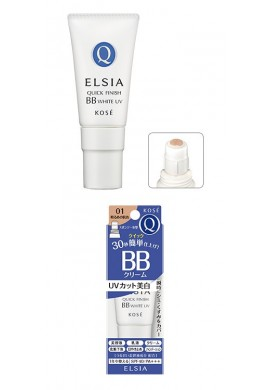 Kose Elsia Quick Finish BB White UV SPF40 PA++