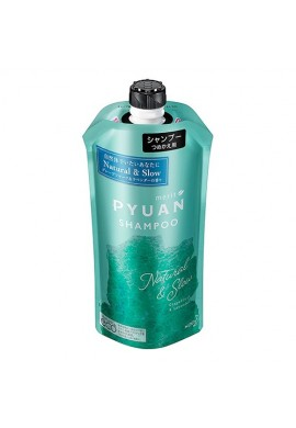 Azjatyckie kosmetyki Kao Merit PYUAN Natural & Slow Shampoo