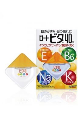 Azjatyckie kosmetyki Rohto VITA Vitamin 40a Eye Drops