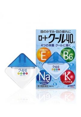 Azjatyckie kosmetyki Rohto COOL Vitamin 40a Eye Drops