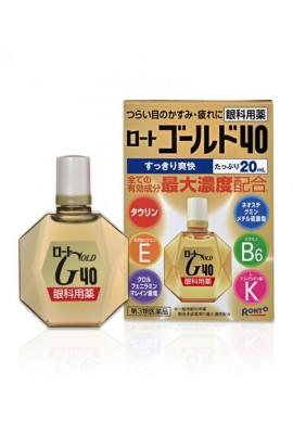 Azjatyckie kosmetyki Rohto Gold 40 Eye Drops