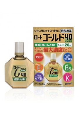 Azjatyckie kosmetyki Rohto Gold 40 Eye Drops Mild