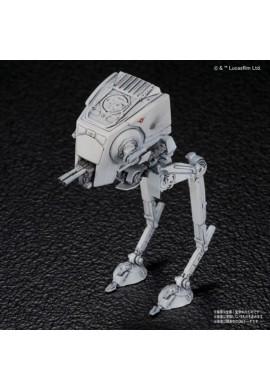 Bandai Star Wars Vehicle Model 008 AT-ST & Snowspeeder Set